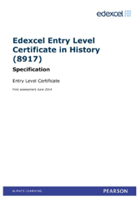 Edexcel history coursework specification